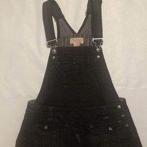 Candie.s vintage black jean skirts